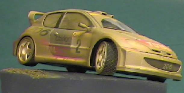 Tamiya 1 24 Peugeot 206 Wrc 2001